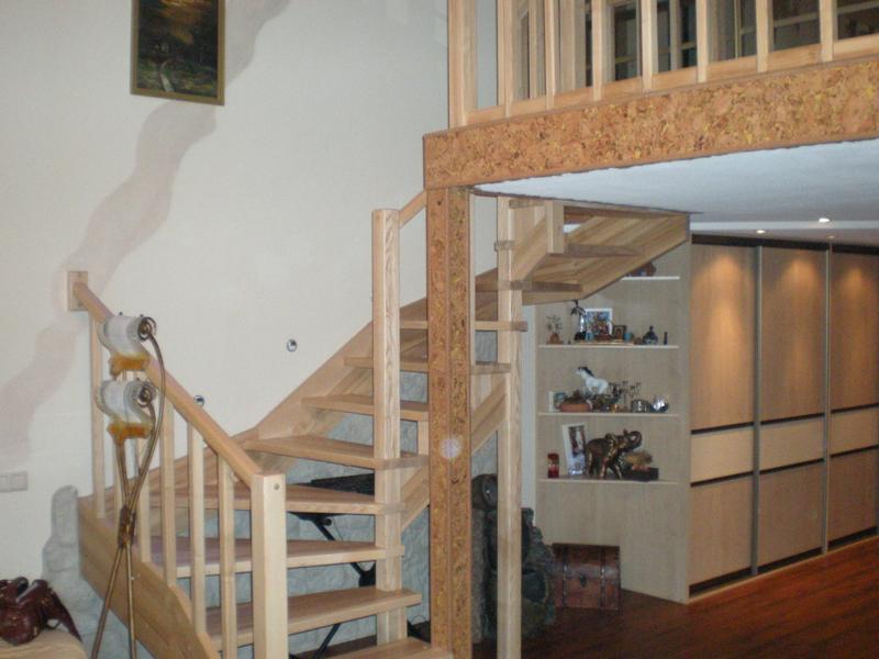 Loft installation