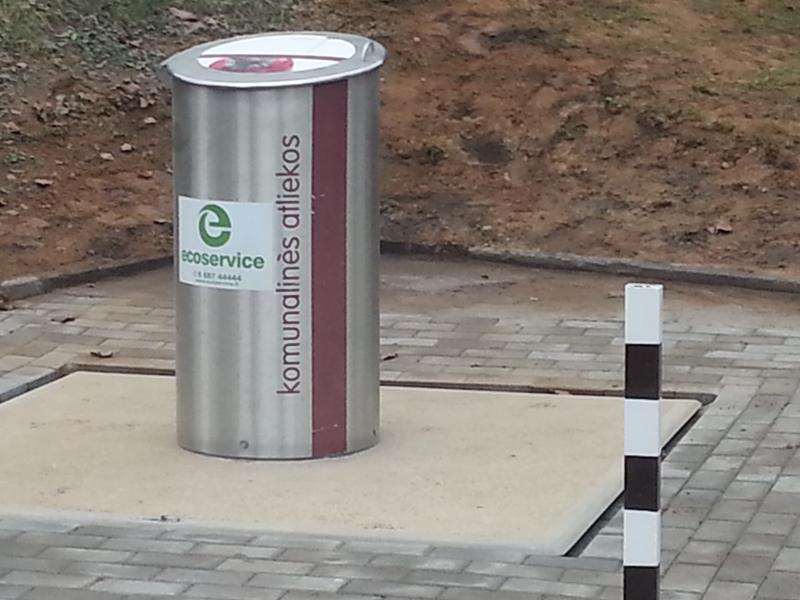 Подземный контейнер для мусора