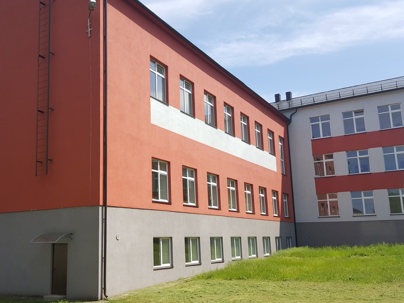 Grigiškės school renovation